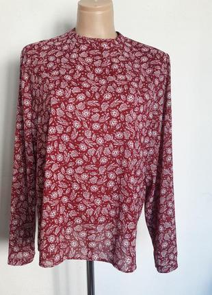 Легкая блузка с длинным рукавом atmosphere