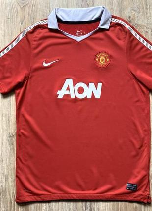 Подростковая коллекционная футбольная джерси nike manchester united  nike