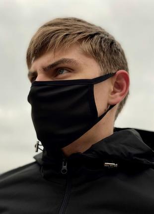 Защитная маска (черная)