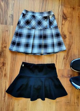 Комплект 2 юбки на 5 лет теннисная юбка одним лотом