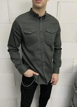 Джинсова сорочка джинсовка