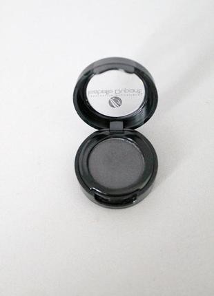 Черные тени для век с блеском soft velvet pearly №е25 isabelle dupont 5г