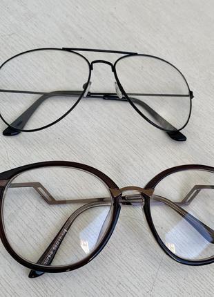 🐚 прозрачные очки