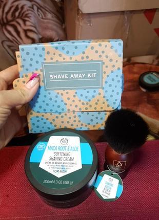 Набор для бритья shaver away kit