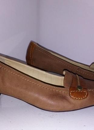 Кожаные итальянские туфли