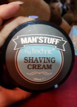 Крем для бритья manstuff shaving cream