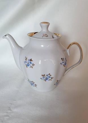 Заварник чайник заварной рига сигулда синие цветы незабудки