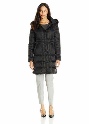 Зимняя куртка фирменный дизайнерский пуховик vince camuto размер l-xl
