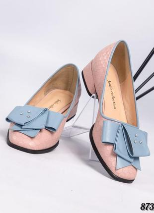 🇮🇹 нежные туфли с бантом