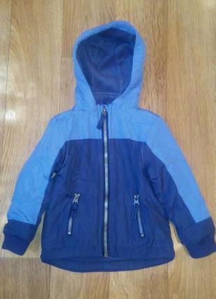 Демисезонная куртка rebel 6-12мес