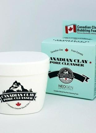 Очищающая маска с канадской глиной neogen canadian clay pore cleanser 120 мл