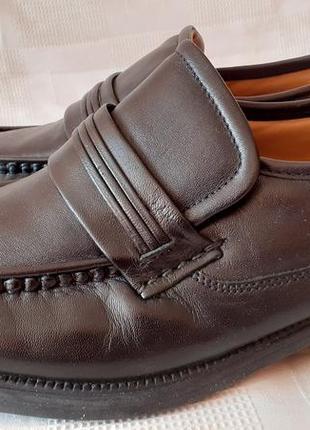 Clarks туфли кожа р 42 ст 28см