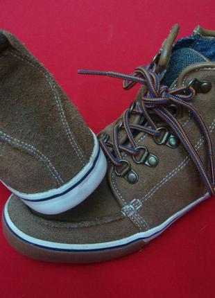 Ботинки next натур замша 32 размер