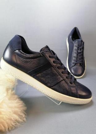 Жіночі шкіряні кросівки кеди ecco р. 38, 40