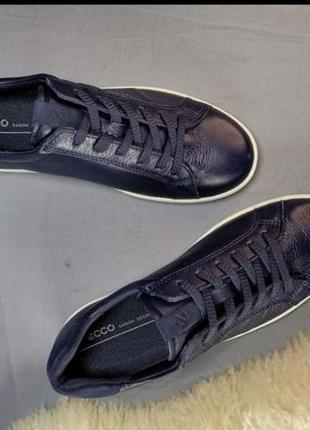 Жіночі шкіряні кросівки кеди ecco р. 38, 402 фото