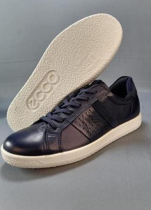 Жіночі шкіряні кросівки кеди ecco р. 38, 407 фото