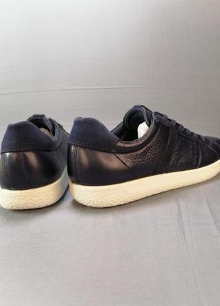Жіночі шкіряні кросівки кеди ecco р. 38, 405 фото