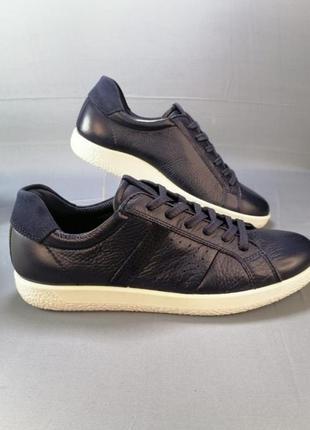 Жіночі шкіряні кросівки кеди ecco р. 38, 406 фото