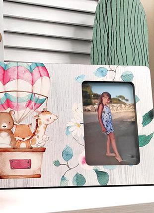 Рамка для фото для девочки 30х20 см (rmf_21a017)