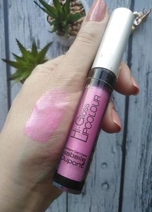 Блеск для губ isabelle dupont hi-gloss lipcolor тон lc310