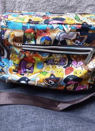 Супер яркая сумка на лето.