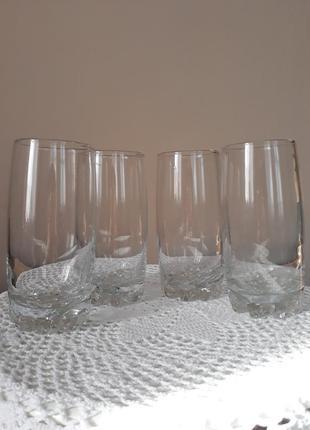 Стаканы хрустальные, высокие стаканы, криворожсталь, стакани кришталеві, ссср, винтаж