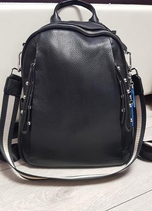 Кожаный рюкзак производство италия