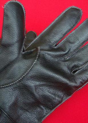 Перчатки ben sherman натур кожа l-xl