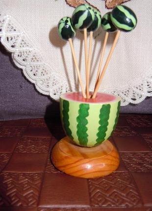 Декор для стола, бамбуковые шпажки для закусок и канапе