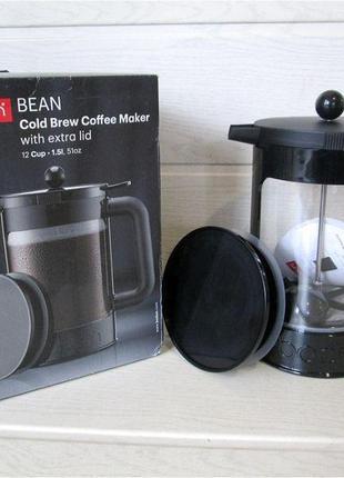Bodum. френч-пресс для холодного заваривания кофе