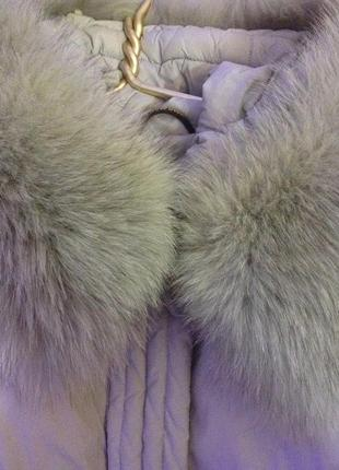 Куртка пуховик совиный пух