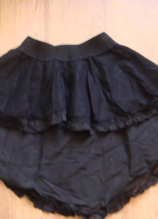 Denny rose модная стильная юбка с хвостом размер s