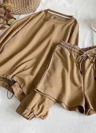 Весенняя новиночка худи +шорты