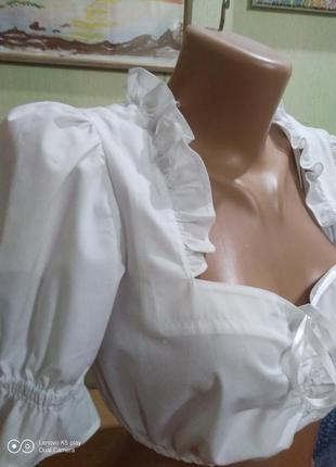 Блуза- топ- винтаж-- xxs-xs-s-  festa-  состояние новой..
