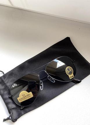 Солнцезащитные очки капли ray ban стекло
