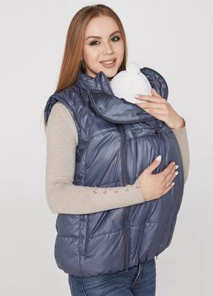 Новая женская жилетка для беременных.