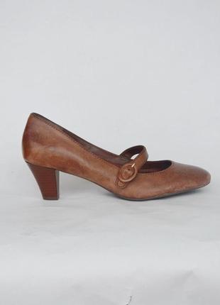 Туфли clarks uk 8 р.42 стопа 27 см