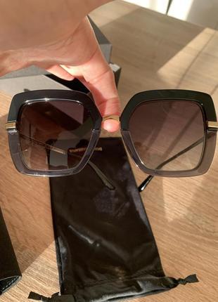 Dolce&gabbana очки чёрные оригинал новые. стильные