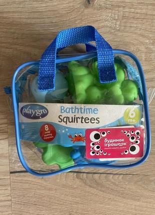 Новый набор игрушек для ванной