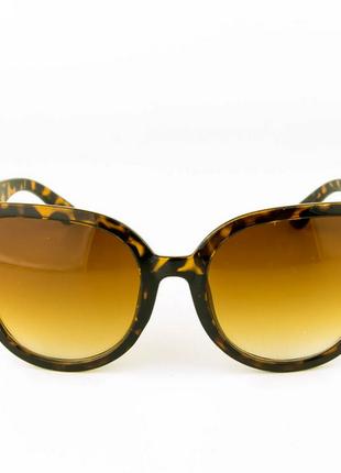 Солнцезащитные женские очки - леопардовые