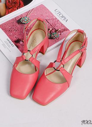 Шикарные туфли кожа