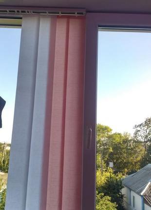Нові тканинні вертикальні штори-жалюзі