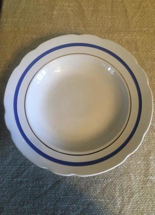 Тарелка фарфор ссср
