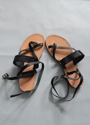 Кожание сандали, сандали кожа, сандалі, босоніжки