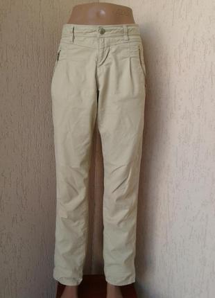 Літні штани кремового кольору