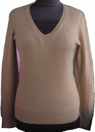 "Пуловер 100% шерсть ягненка  ""tommy hilfiger""  размер м"