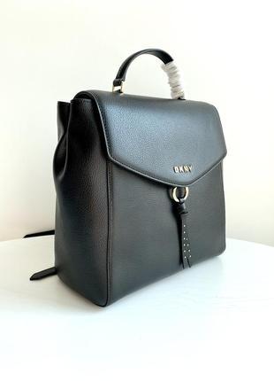 Рюкзак dkny рюкзачок рюкзачёк donna karan кожаный кожа оригинал жіночий рюкзак оригінал
