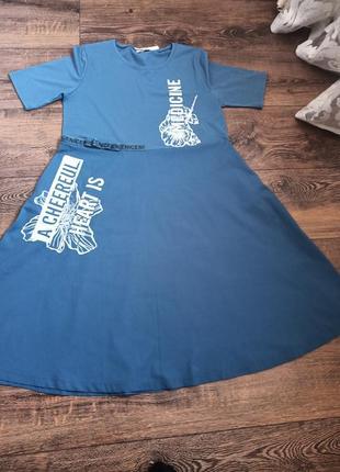 Коттоновое платье andora