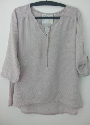 Стильная тоненькая рубашка,блузочка, cecil, 48,50,52p.