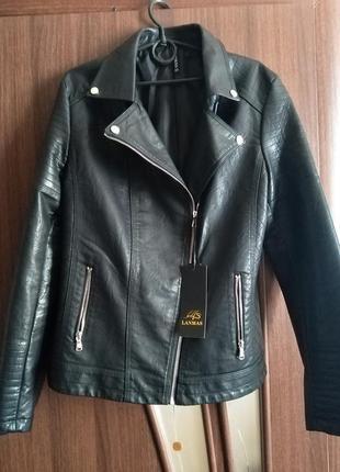 Куртка косуха женская из экокожи новая